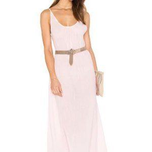 Bobi Gauze Sleeveless Scoop Back Maxi Dress